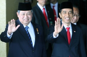 Widodo sworn in as Indonesia's President