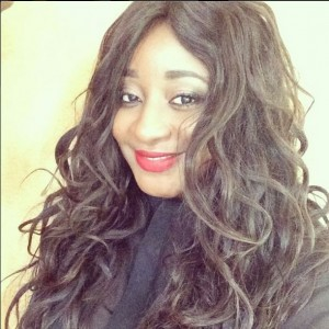Ini Edo Removes Husband's Name From Twitter Handle