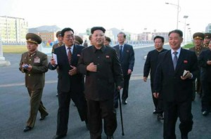 State Media Shows North Korean Leader, Kim Jong-un Using A Cane Since Return