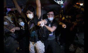 Police Use Pepper Spray and Batons On Thousands Of Pro-democracy Activists In Hong Kong