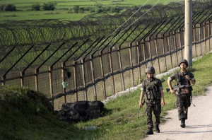 Rival Koreas exchange fire across border for the second time