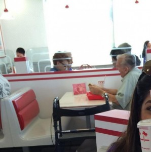 Heartwarming Story of Man Who Still Eats Out with His Late Wife Melts Internet Hearts
