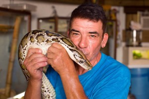 Meet Man Who Lives With Dozens Of Venomous Snakes