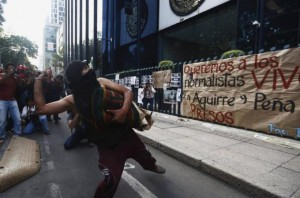 Protest In Mexico Over Missing Students Gets Violent