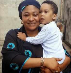 Ronke Oshodi Flaunts Her Cute Son