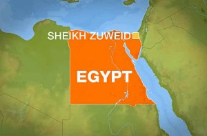 Suicide bomber kills over 20 soldiers at Sinai army checkpoint