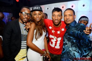 Skuki's Throws Big 28th Birthday Party At Night Club In Lagos