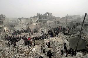 UN peace envoy Staffan de Mistura proposes Syria 'fighting freeze'