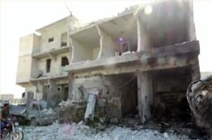 At least 60 people reportedly dead after regime forces drop bombs on Idlib camp housing refugees