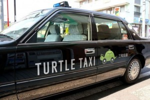 Japanese Turtle Taxi Promises to Drive You as Slow as Possible