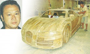 Mind-Blowing Life-Size Replicas of Popular Sports Cars Exclusively Out of Wood
