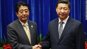 Leaders of China and Japan Hold First Face-to-face Talks Amid Tensions