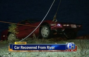 Husband Going Through Divorce Sends Wife's Car Into River