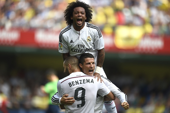 Ronaldo is just the best in the world and a team player, according to Brendan Rodgers. Image: Jose Jordan/AFP/Getty.
