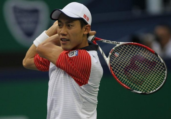 Kei Nishikori Defeated Andy Murray In His ATP World Tour Finals Debut. Image: Getty.