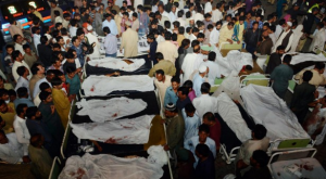 Suicide Bomber Kills Dozens at Pakistan Border Parade