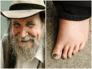 69-Year-Old Man Known as 'Pete the Feet' Hasn't Worn Shoes or Socks in Almost 50 Years