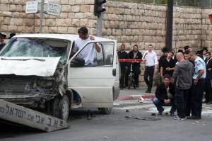Terror Attack in Jerusalem Kills 1, Injures 13