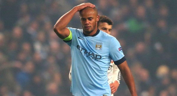 Manchester City's Kompany Set to Miss the Weekend's Premier League game Through Injury. Image: Getty.