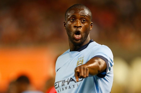 """Kick It Out Reports to Police of """"Racist Tweet"""" Sent to Yaya Toure. Image: MCFC via Getty."""