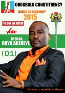"Dayo Adeneye, D1: ""I Am Not Going Into Politics To Make Money"""