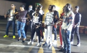 BTS photos from M.I Abaga's 'Bad Belle' video shoot
