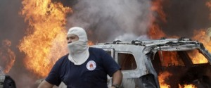 Protesters Burn Mexico Government Building Over Missing Students