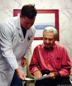 Surgeon Performs Life-Saving Operation On Retired Obstetrician Who Delivered Him 45 Years Ago