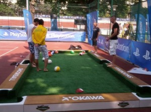 See SnookBall, A Sport That Lets You Play Billiards with Your Feet